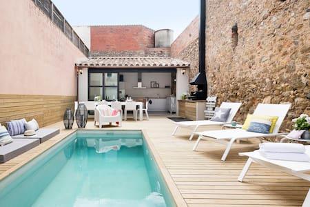 THE PINK HOUSE MARENYA/ LA TALLADA D EMPORDA - La Tallada d'Empordà - 独立屋
