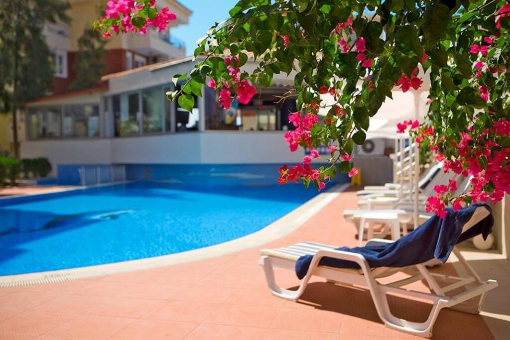 Havuz Kenarı/Pool Area