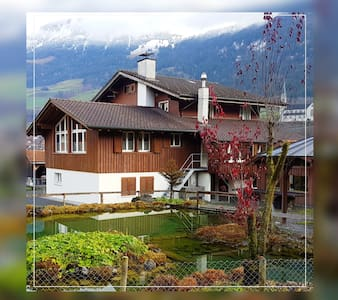 Lungern-see-you, RED: 2 double rooms (no kitchen!)