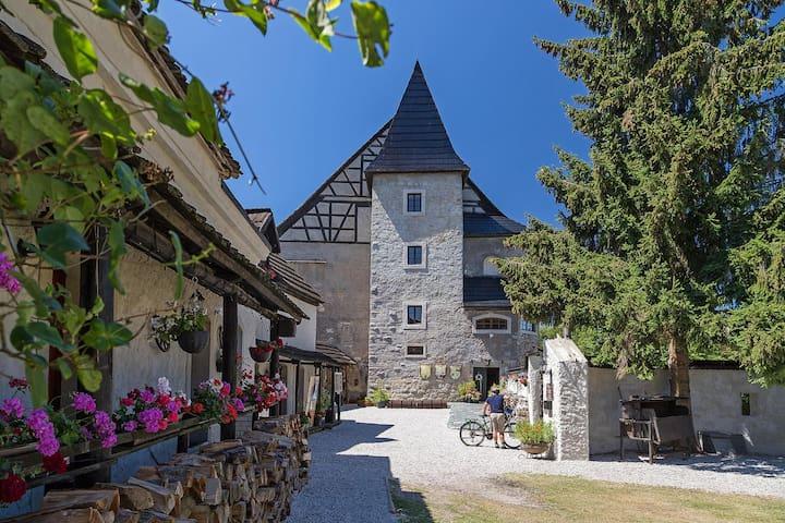 Ubytování na hradě!