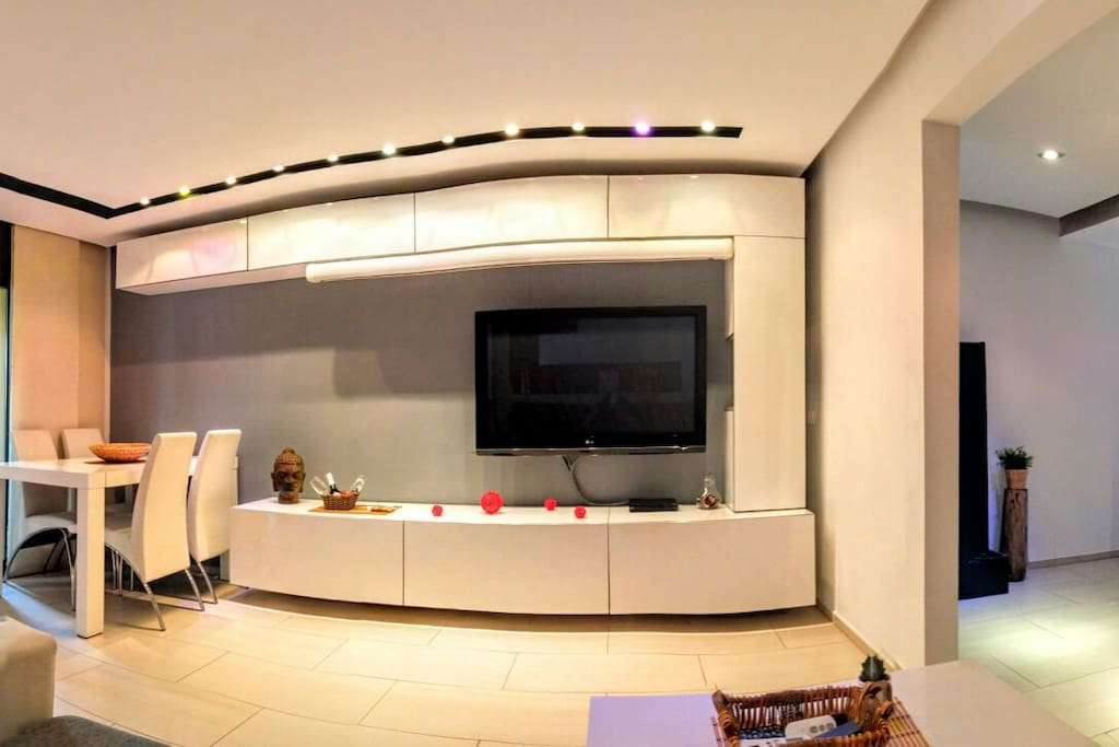 Living room all lights