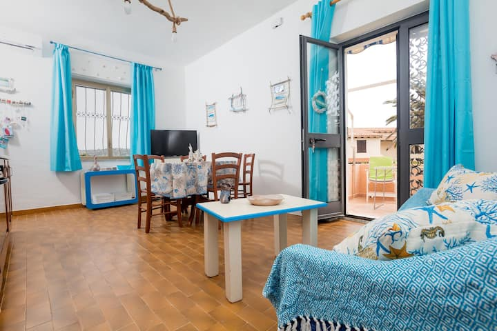 Centrally Located Holiday Home with Air Conditioning and Balcony