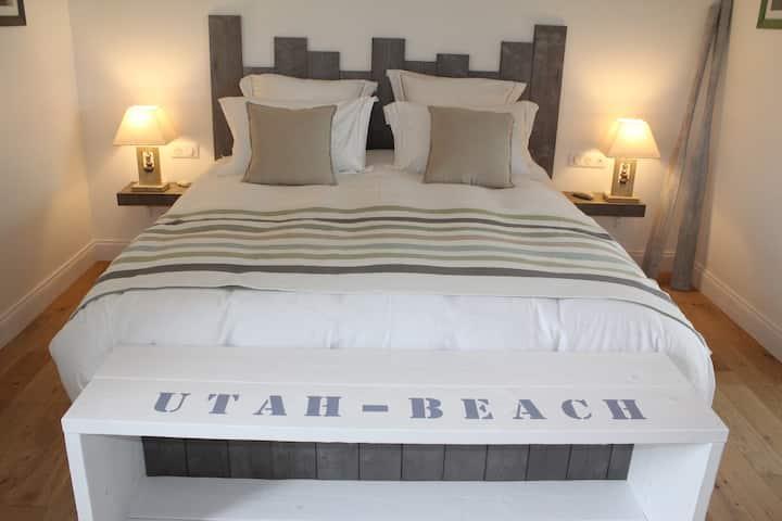 La Ferme les Chapelles chambre UTAH BEACH