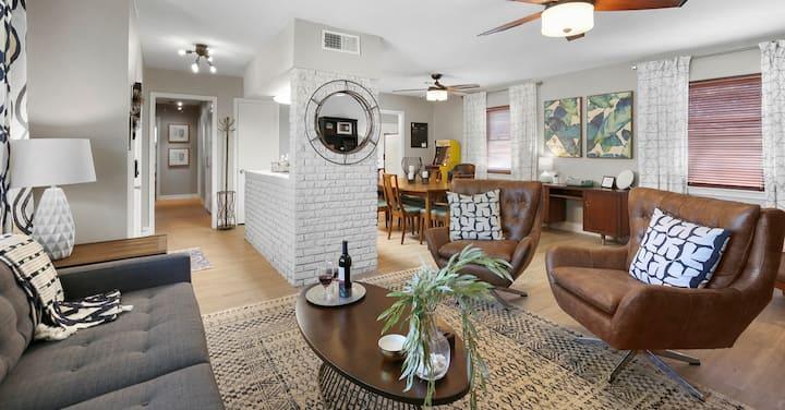 Midcentury home: beautiful & convenient community