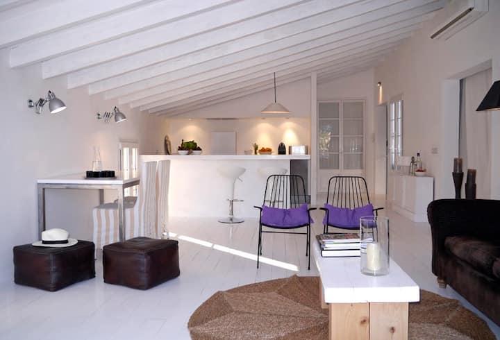 Lujoso apartamento en centro de Pollensa