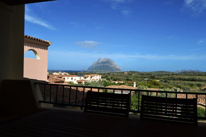 Apartment with view on Tavolara
