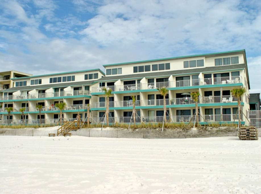 Newly Updated Beachfront Condo