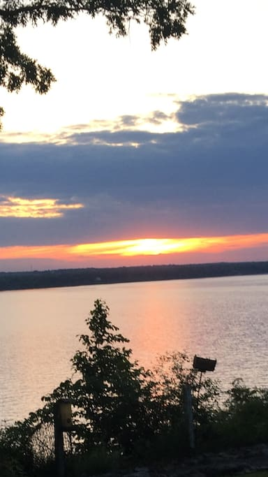 Best view of the Seneca lake sunsets.