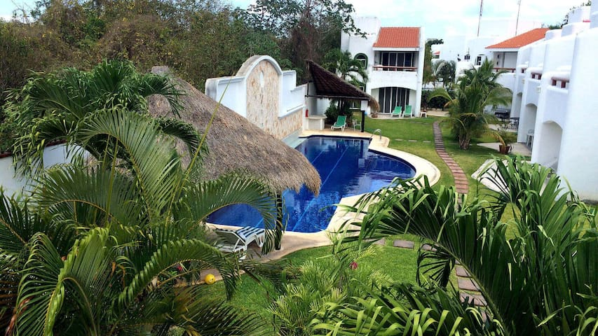 Charming house for rent in Playacar. 3 bedrooms