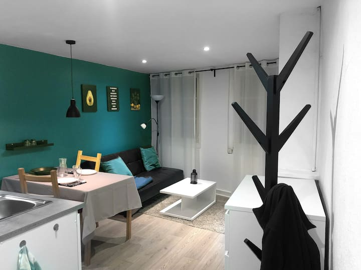 Studio moderne tout équipé au pied des monuments