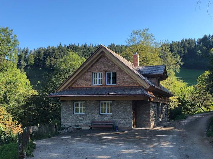 Haldenmühle - mitten in der Natur mit Sauna