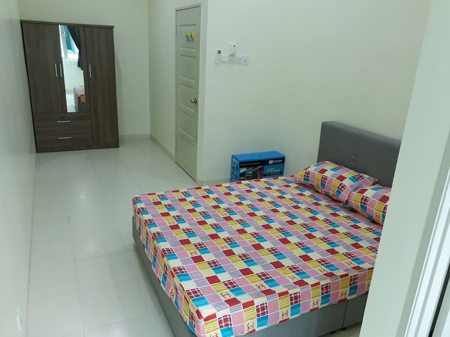 Double  Bed for common room