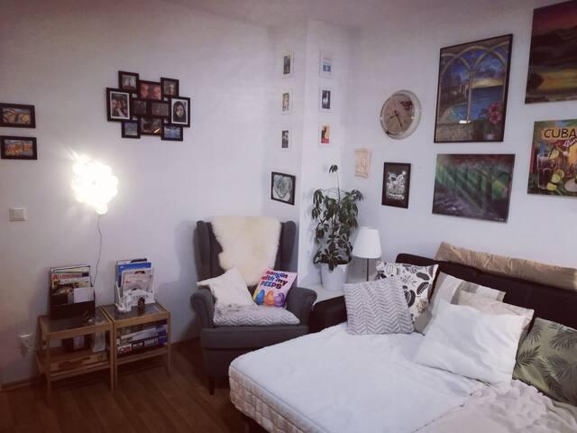 Zimmer mit Balkon in WG bis 4 Pers. nähe Zentrum