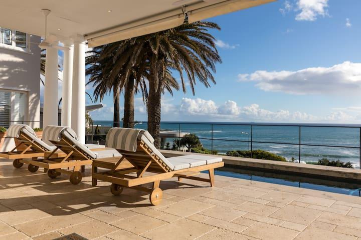 Seafront, Large  Pool Elegant Original Cape Dutch