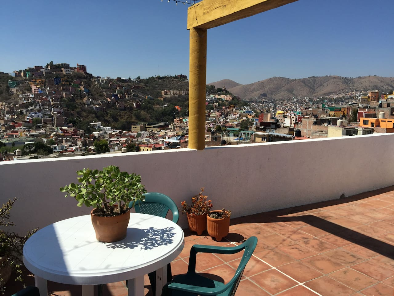 View from the terraza