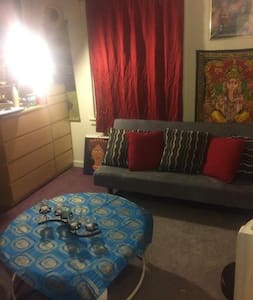 Quiet Private Room in Small Apartment Downtown - Schenectady - Lakás