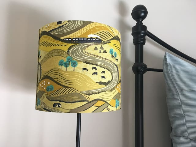 The Yorkshire Dales in a lampshade!