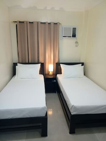 Private Standard Twin Room 2 at MATINA CROSSING