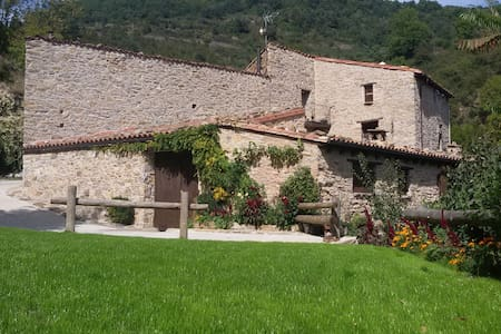 MOLÍ CAN COLL- Apart. Rural TAGA - Campelles - Rumah
