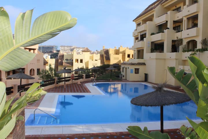 Stunning two bedroom apartment in Duquesa Village