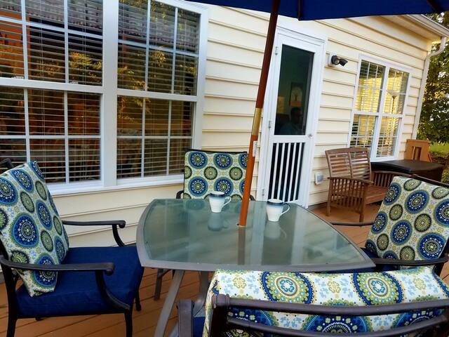 Garden Getaway: Cozy room in the Historic Triangle