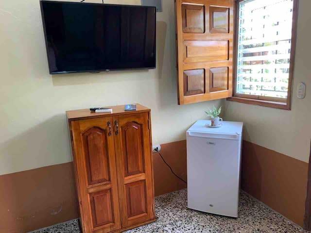 Habitación verde — Caribeña