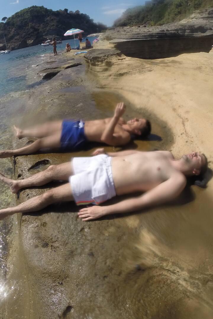 Relax sulla roccia