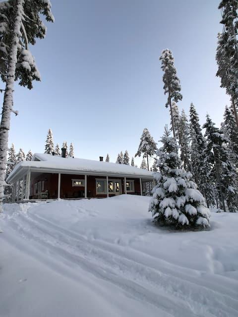 Peaceful house near Oulu
