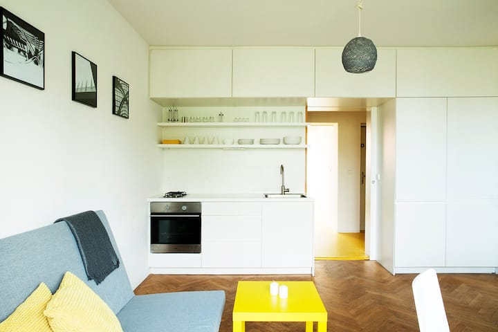 Minimalist Apartment Near the Park
