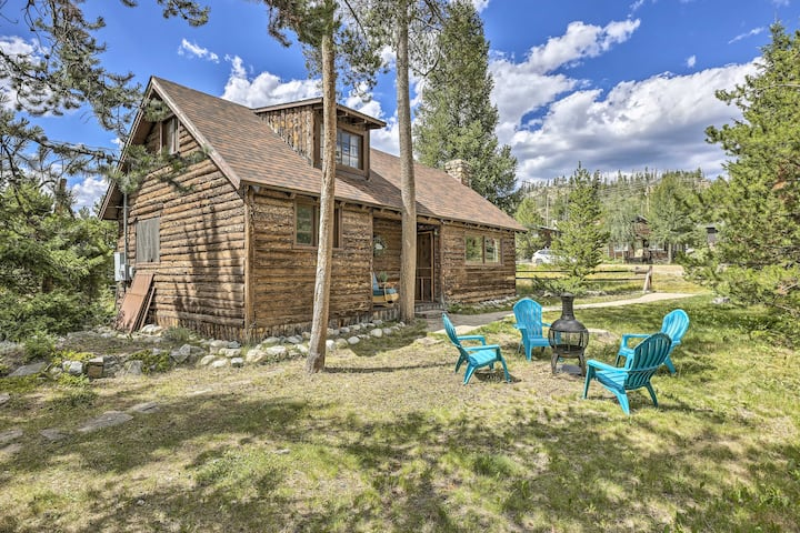 NEW! Historic Downtown Cabin - Walk to Grand Lake!