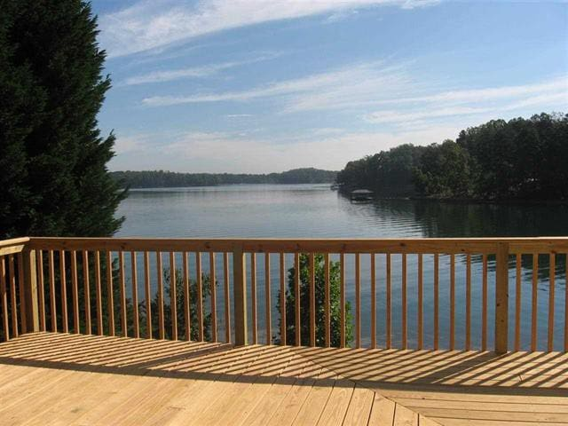 Large Lake View with no docks in view ( Best View on Lake Keowee)