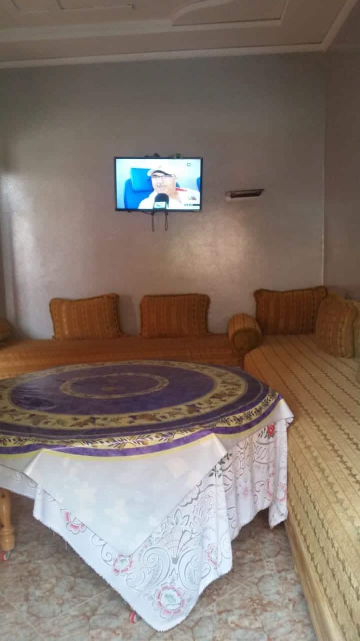 appartement RDC à 5 min de la plage