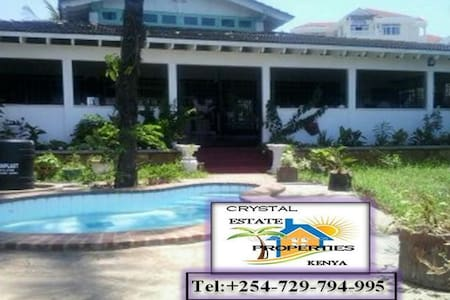 Spacious, private,cozy house with great view - Mombasa - Apartament