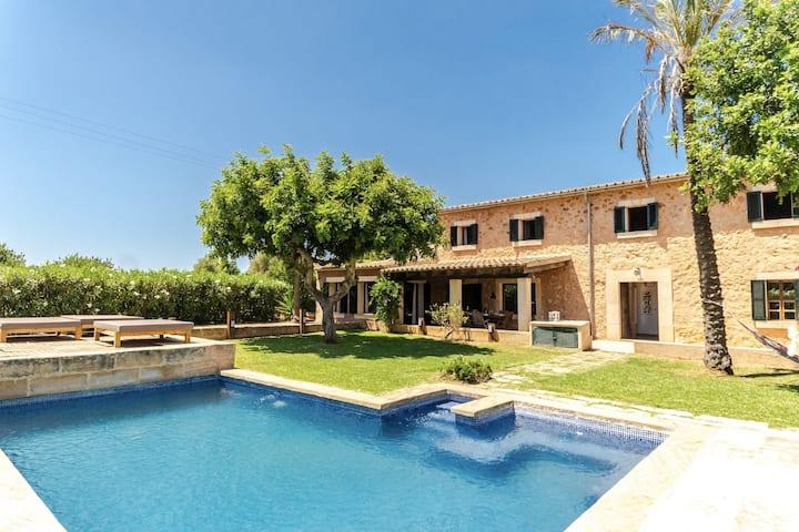 VILLA SISCELIS - Beautiful house with private pool in Santa Maria del Cami.