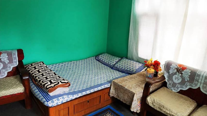 Home-stay with a typical Nepalese flavor