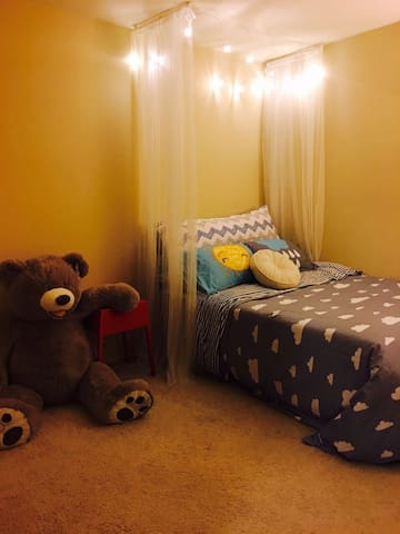 Romantic room with big bear in LA - Chino Hills - House