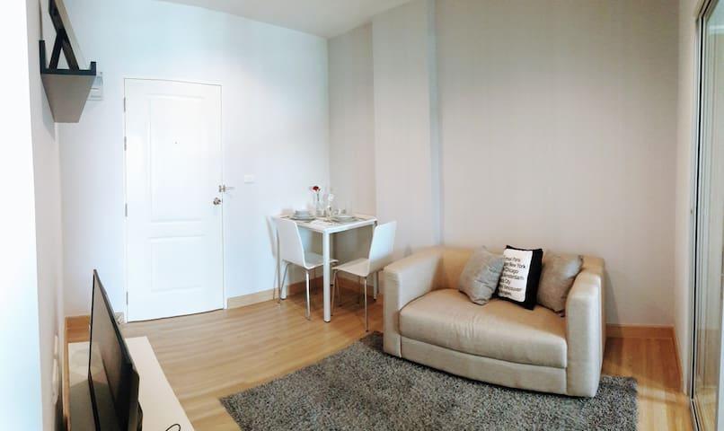 Condominium Room for rent at Bangkadi Pathum thani