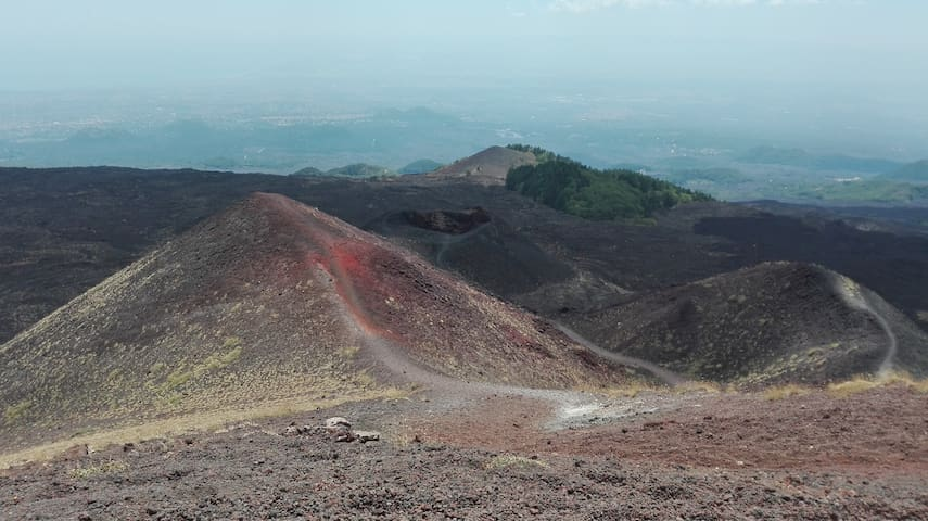Etna slopes