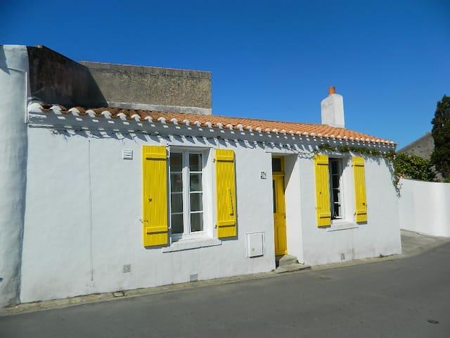 Maison de pêcheur au coeur de Saint Sauveur - Ile d'Yeu - Prázdninový dům