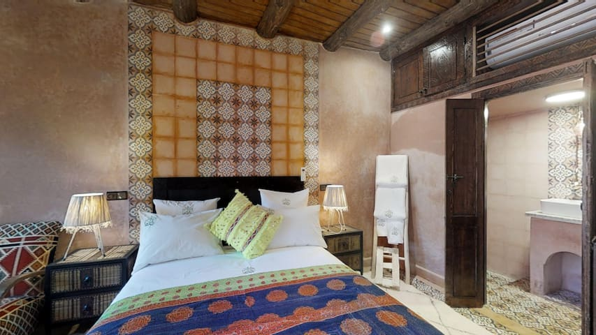 A nice double room in ourika valley
