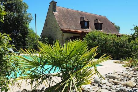 Maison de vacances avec piscine privée au vert