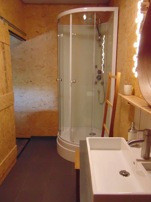 salle de bain individuelle