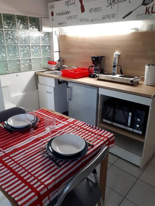 Prêt pour un repas
