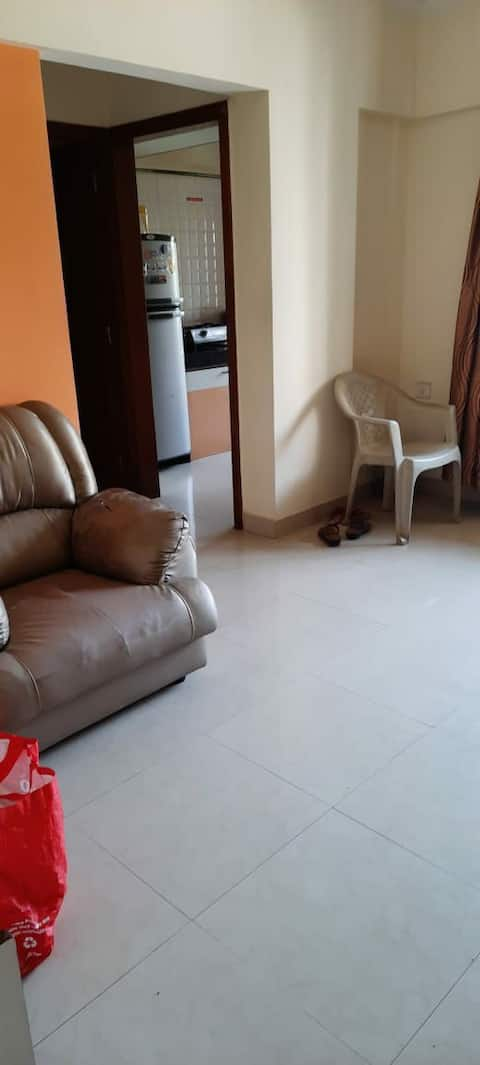 Full flat , privacy for your own use at borivali