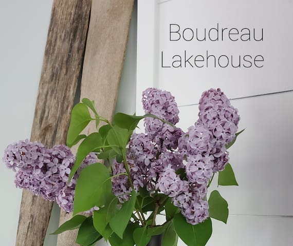 Boudreau Lakehouse, for relaxation and serenity