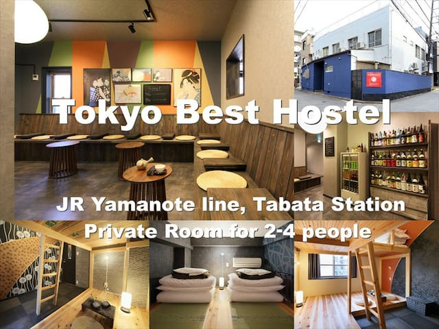 Coupon Present★Popular guest house/JRTabata St#T11