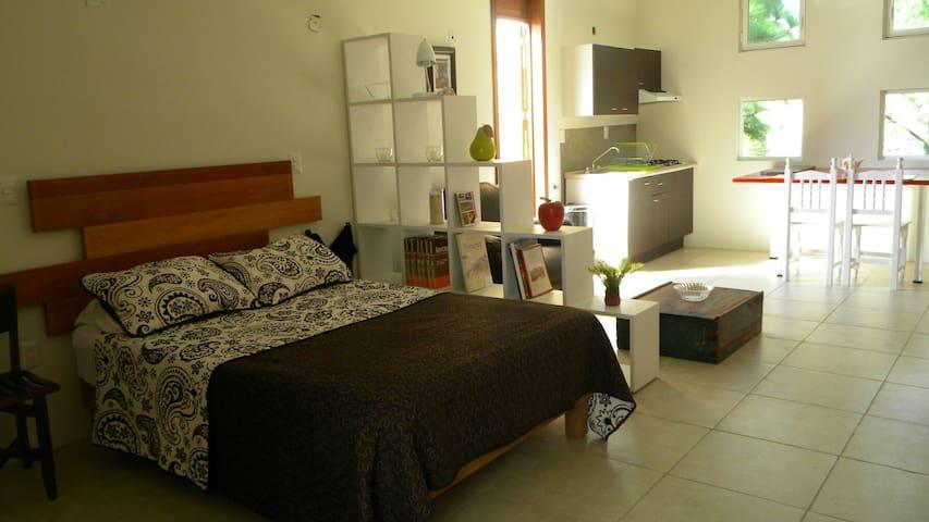 Loft Nuevo + Terraza Independiente + Parking - Oaxaca, Oaxaca, MX - Loteng Studio