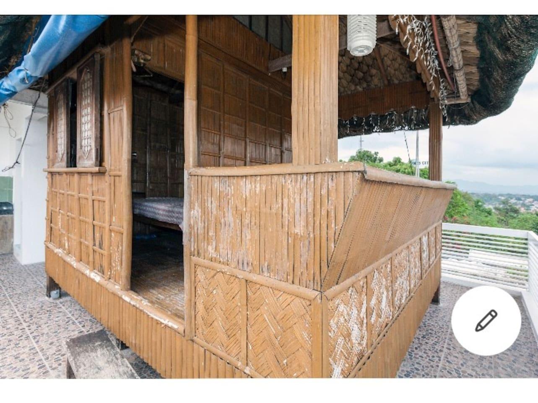 hut at roof deck