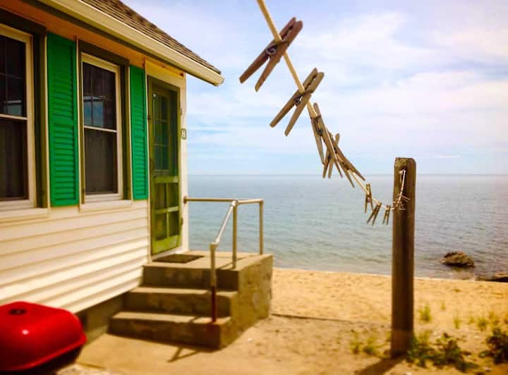 Cosmos Cottage, a Beachfront Home on Cape Cod Bay
