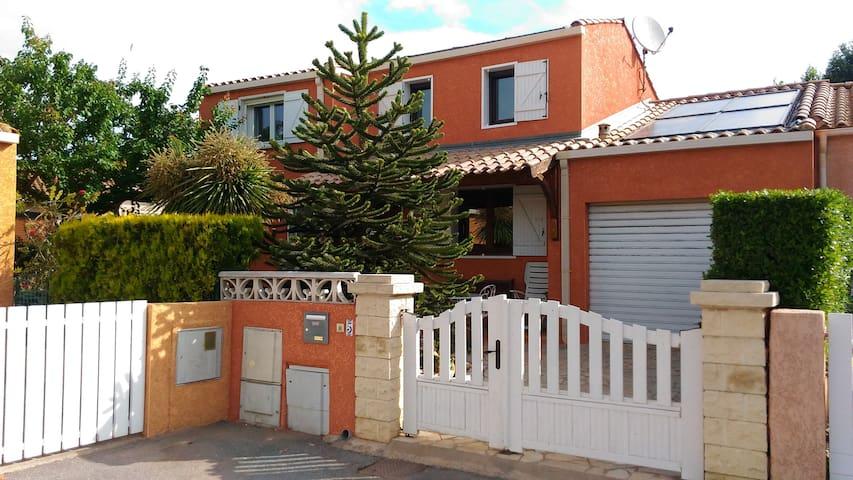 Villa paisible quartier résidentiel - Marseillan